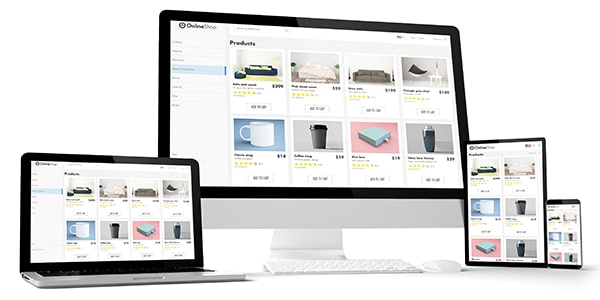 Diseño Web Ecommerce Prestashop en levare digital
